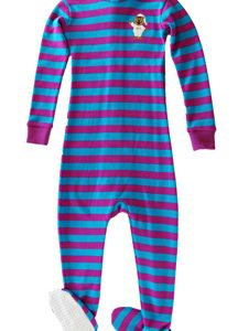 Footies Special - Fuschia/Turquoise Stripe